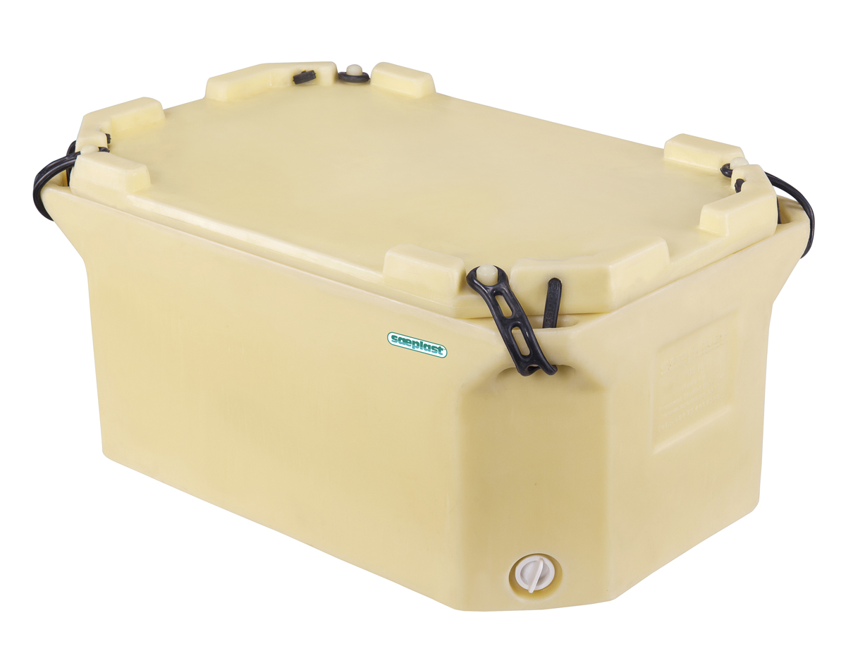 Small insulated fish and meat tub s plast containers for A fish in the bathtub