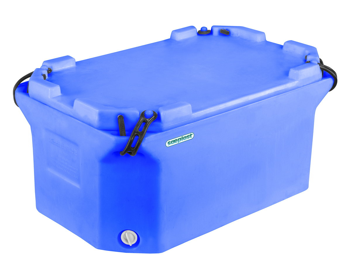 Small insulated fish and meat tub s plast containers for Fishpond products